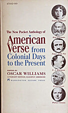 American Verse from Colonial Days to the…