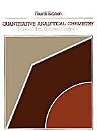 Quantitative analytical chemistry by James…
