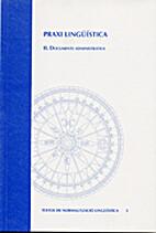 Praxi lingüística. II Documents…