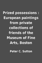 Prized possessions : European paintings from…
