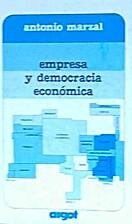 Empresa y democracia economica by Antonio…