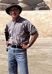 Author photo. Mark Lehner [credit: Ancient Egypt Research Associates]