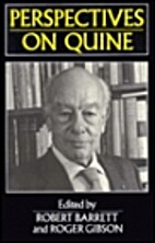 Perspectives on Quine by Robert B. Barrett