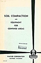 Soil Compaction and Equipment for Confined…