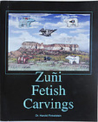 Zuni fetish carvings by Harold Finkelstein