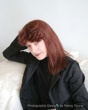 Author photo. Photographic Designs by Penny Young