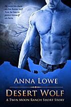 Desert Wolf by Anna Lowe