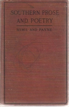Southern Prose and Poetry for Schools by…