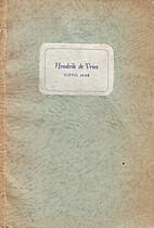 Hendrik de Vries vijftig jaar by G.J. Geers
