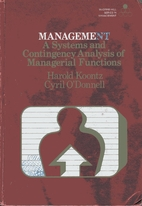 Management : a systems and contingency…