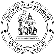 Author photo. Center of Military History Seal