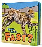 Guess Who's Fast? by Camilla de la Bedoyere