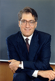 Author photo. Prof. Robert Peter George. Photo by Rita Nannini, 2001 (photo courtesy of Princeton University)