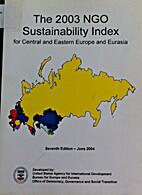 The 2003 NGO Sustainability Index for…