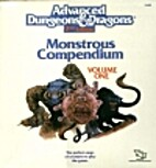 Monstrous Compendium Binder (Advanced…
