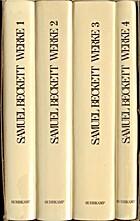 Werke by Samuel Beckett