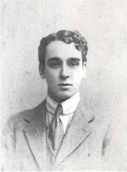 Author photo. Ralph Chubb in 1912. Source: Cave, Roderick. In Blake's Tradition: the Press of Ralph Chubb. American Book Collector. 11 (2), p16