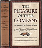 The pleasure of their company : an anthology…