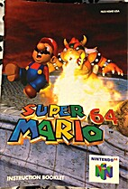 Super Mario 64 N64 Instruction Booklet…