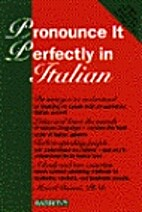 Pronounce it perfectly in Italian by Marcel…
