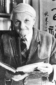Author photo. Joseph Needham, Sinologue et historien des sciences (1900-1995)