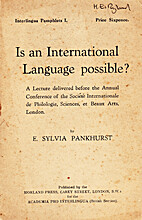 Is an international language possible? A…