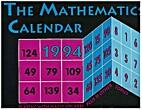 The Mathematics Calendar 1994 by Theoni…