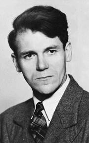 Author photo. Olav H. Hauge, circa 1940 [source: Oslo Museum: image no. OB.Ø61/4771]