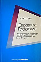 Ontologie und Psychoanalyse :…