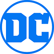 Author photo. DC Comics logo
