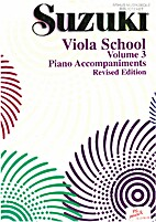 Suzuki Viola School - Volume 3 - Piano…