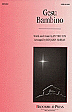 Gesù bambino = The infant Jesus [score] by…
