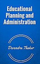 Educational Planning and Administration by…