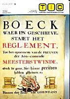 Textiel in de Gentse Waterwijk (1688-1769),…