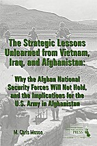 The strategic lessons unlearned from…