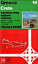 Crete. Touring map / Leisure / Culture