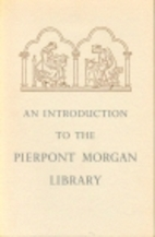 An introduction to the Pierpont Morgan…