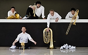 Author photo. Canadian Brass in 2014. Photo by Bo Huang