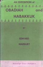 Obadiah and Habakkuk by Edward Marbury