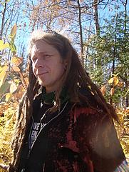Author photo. Matte Resist - Gooseberry Falls State Park, MN - 2010. Photo by Rachael Ann