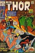 Thor # 186 by Stan Lee