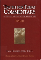 Isaiah (Truth for Today Commentary) by Don…