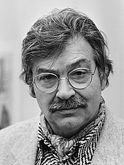 Author photo. Karel Appel in 1982 [credit: Marcel Antonisse / Anefo; source: Nationaal Archief; grabbed from Wikipedia]
