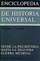 Enciclopedia de Historia Universal. Vol.1,…