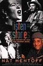 Listen to the Stories: Nat Hentoff on Jazz…