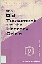 The Old Testament and the Literary Critic…