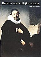 Bulletin van het Rijksmuseum; jaargang 42,…