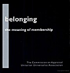 Belonging: The meaning of membership by…