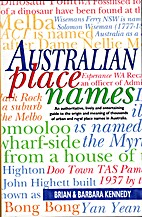 Australian place names by Brian Kennedy
