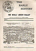 The Early History of the Wolli Creek Valley…